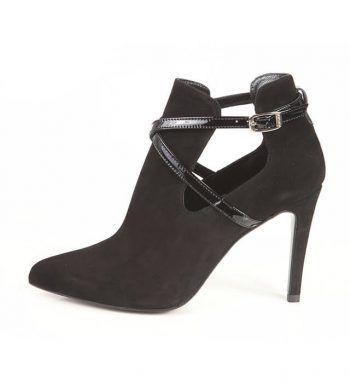Botín Mujer Tacón Negro Angari Shoes.