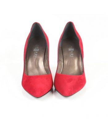 Zapato Salón Mujer Rojo Stilettos Angari Shoes.