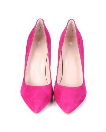 Zapatos Fiesta Mujer Pink Ante Angari Shoes.