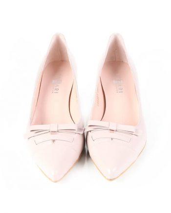 Zapatos Vestir Mujer Piel Rosa Angari Shoes.