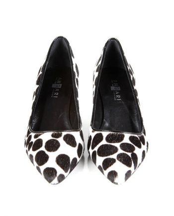 Zapatos Mujer Stilettos Piel Potro Animal Print Angari Shoes.