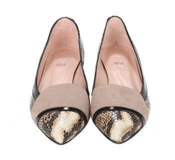 Zapatos Planos Mujer Charol Animal Print Angari Shoes.