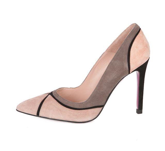 Zapato Stiletto Ante Nude Angari Shoes.