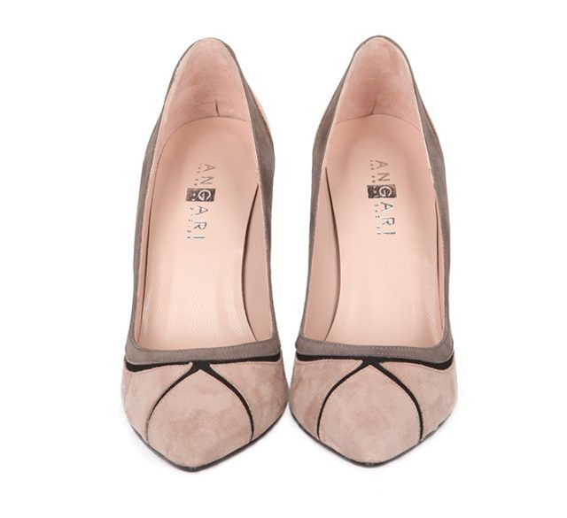 Zapatos Stiletto Fiesta Nude Ante Angari Shoes.