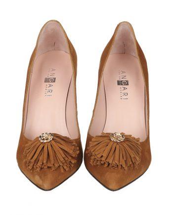 Zapato de mujer en ante