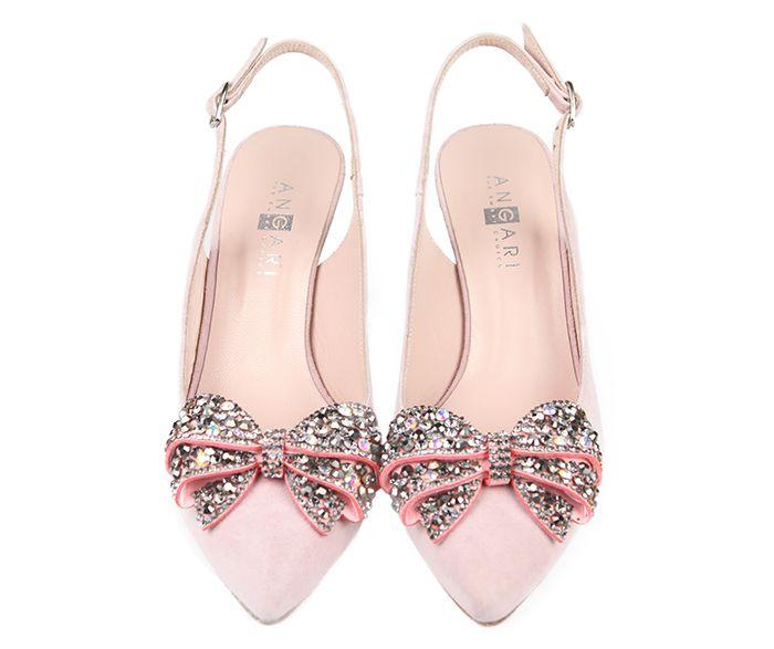 97734495341 Zapatos Salón Mujer Ante Nude Joya Angari Shoes.
