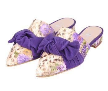 Zapato Plano Mujer Piel Lazo Ante Angari Shoes.