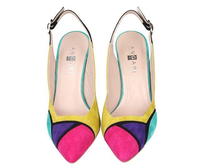 Zapatos Stilettos Fiesta Ante Lima Angari Shoes.