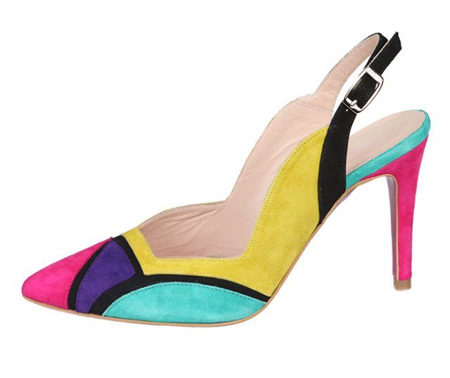 Zapato Salón Mujer Ante Varios Colores Angari Shoes.