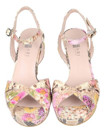 Zapatos Mujer Sandalia Piel Plataforma Angari Shoes.