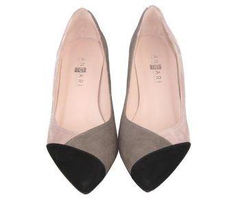 zapatos de salón clásicos color nude