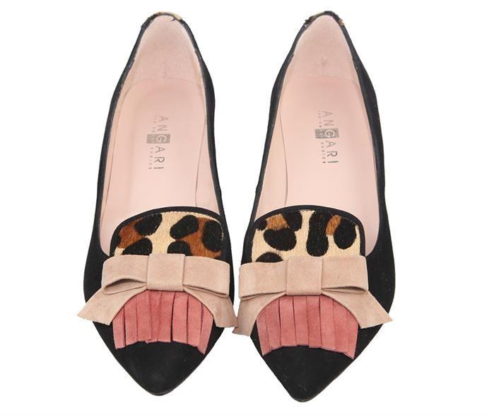 76f2e4604dd zapatos de tacón medio negros y animal print